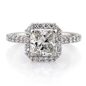 radiant engagement rings radiant cut halo ring images