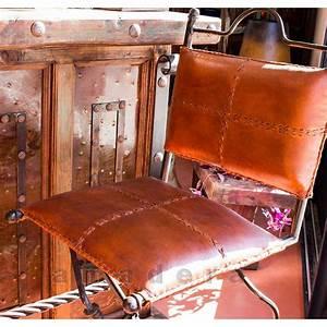 Mobilier De Bar : chaises haute de bar pivotantes en cuir et fer forg ~ Preciouscoupons.com Idées de Décoration
