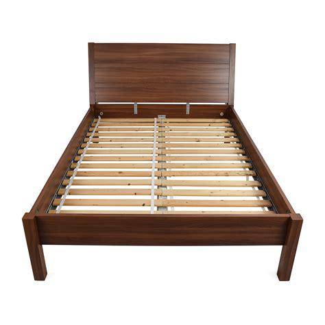 55% Off  Black Scrolled Metal Bed Frame Beds