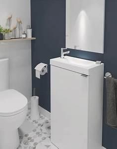 Lave Main Brico Depot : lave mains poser blanc imandra l 44 x h 79 x p 23 ~ Dailycaller-alerts.com Idées de Décoration