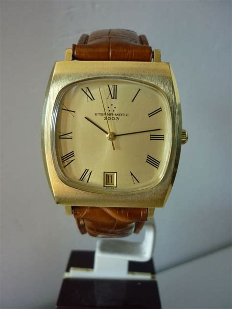 Eterna matic 3003 date montre homme 1975 Catawiki