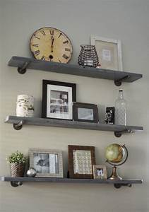 diy restoration hardware reclaimed wood shelf Quick