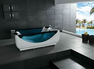 hot sale indoor 2 people freestanding acrylic whirlpool With consideration in buying suitable two person bathtub