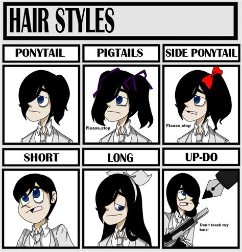 Deviantart Memes - hair styles meme by happywell on deviantart