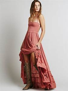 2017 beach dress sexy dresses boho bohemian people holiday With robe longue boheme chic 2017