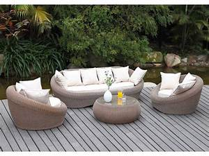 Salon De Jardin Blanc : salon de jardin installez vous dans nos salons de jardin ~ Teatrodelosmanantiales.com Idées de Décoration