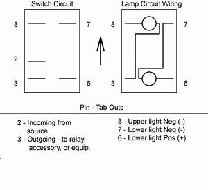 On Off Contura Ii Wiring Diagram With Carling Switches