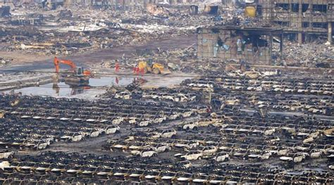 tianjin explosion death toll rises    including