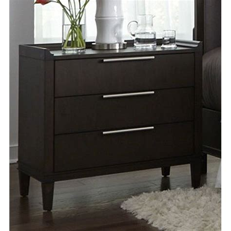 Nightstands Clearance by Charcoal Contemporary Nightstand Tivoli Rc Willey