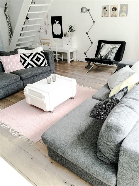 Zimmer Rosa Grau by Killer Color Combo Black White Pale Pink Grey Condo