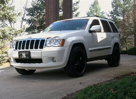 white jeep grand cherokee wheels bronxbball25 2008 jeep grand cherokeelimited sport utility