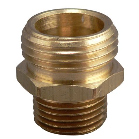 lowes garden hose shop plumb pak 3 4 in x 1 2 in garden hose fitting at