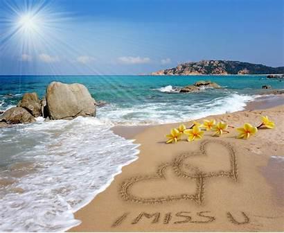 Beach Heart Sand Romantic Hearts Romance Sea