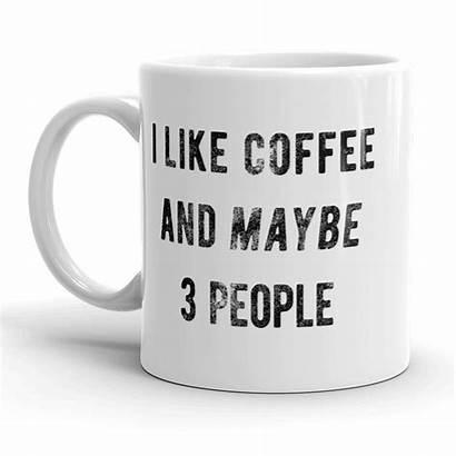 Coffee Maybe Funny Band Cuo 11oz Mug