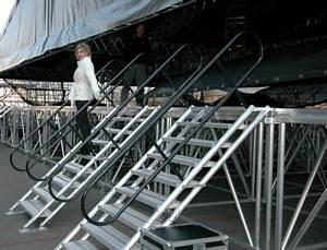 Escalier Ajustable En Hauteur : prolyte escalier ajustable de 100 139 cm de hauteur ~ Premium-room.com Idées de Décoration