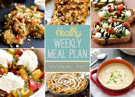 Our nutritionist has put together seven nights of healthy and seriously cheap family meals. Healthy Weekly Meal Plan #62 - Yummy Healthy Easy