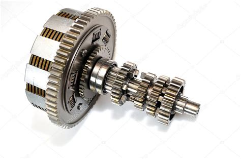 Motorcycle Clutch With Gears.