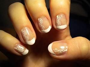 French Manucure Couleur : 4 ongles comment faire une french manucure blog de girl ~ Nature-et-papiers.com Idées de Décoration