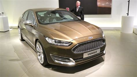 Ford Mondeo Vignale Concept, First Presentation