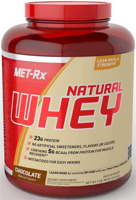 Amazon.com: MET-Rx Natural Whey Chocolate, 5 pound: Health