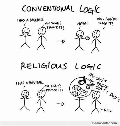 Conventional Logic Religious Meme