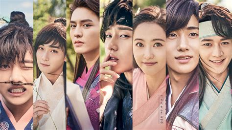 drama review flower soldier  protect joseon
