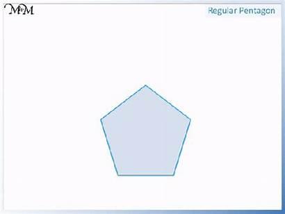 Parallel Sides Regular Lines Shape Any Pentagon