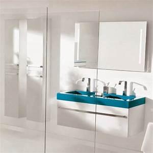 Meuble salle de bain quadra for Meuble quadra plus