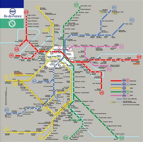 Carte Metro Rer by Ligne De Metro Rer Subway Application