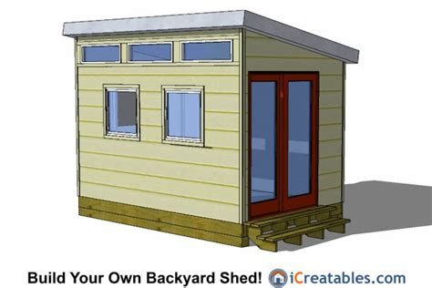 Saltbox Shed Plans 8x12 by 8x12 Shed Plans Buy Easy To Build Modern Shed Designs