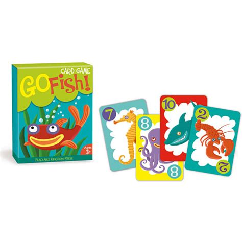 go fish go fish card game timbuk toys
