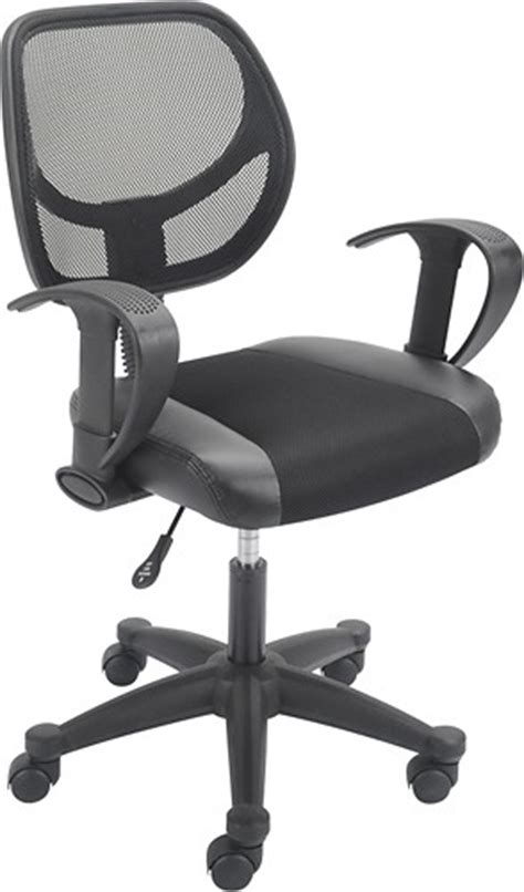 true innovations puresoft pu task chair 40882 best buy