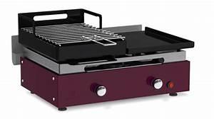 Plancha Ou Barbecue : barbecue plancha au gaz et au charbon de bois verycook ~ Melissatoandfro.com Idées de Décoration