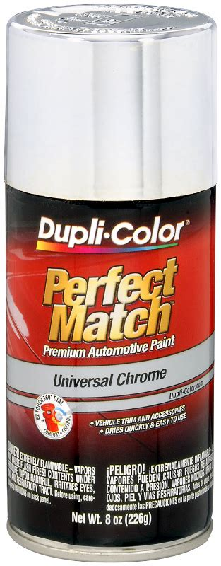 dupli color auto spray paint duplicolor s universal chrome auto touch up spray paint