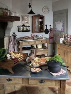 Deco Cuisine Bistrot : comptoir de famille les meubles en 2019 cuisines comptoir de famille cuisine bistrot et ~ Louise-bijoux.com Idées de Décoration