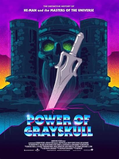 Power Grayskull Poster Behance Project Max