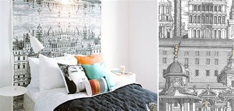 papier peint chambre moderne au fil des couleurs pour des papiers peints tendance