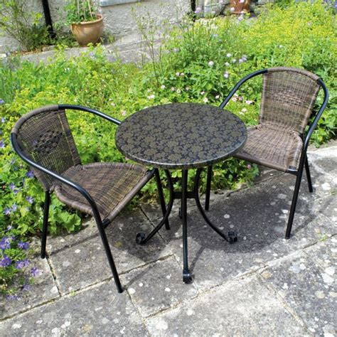 buy europa leisure fleuretta bistro set at argos co uk