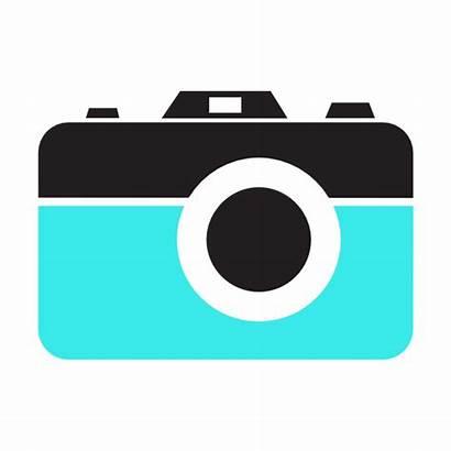 Camera Icon Clip Clipart Clker Vector Domain