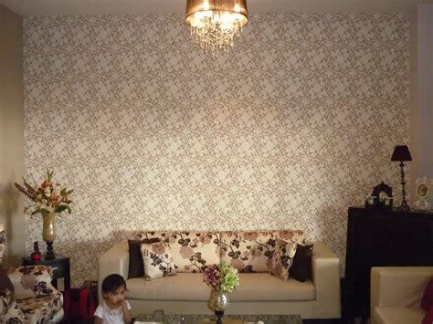 contoh wallpaper dinding ruang tamu minimalis rumah
