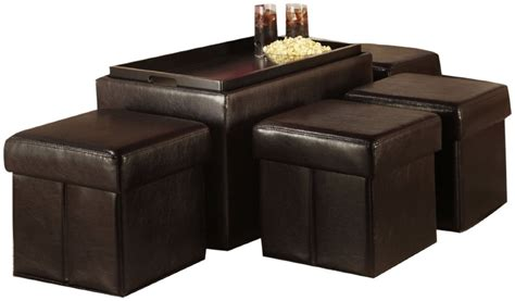 coffee table with ottomans underneath coffee table with storage ottomans underneath whyrll com