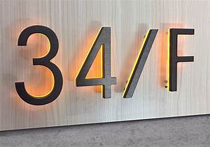 luxello modern 8quot bronze lighted numbers letters With bronze letters and numbers
