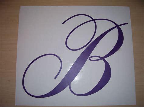 vinyl letter decals vinyl letters single letter decals 89 10