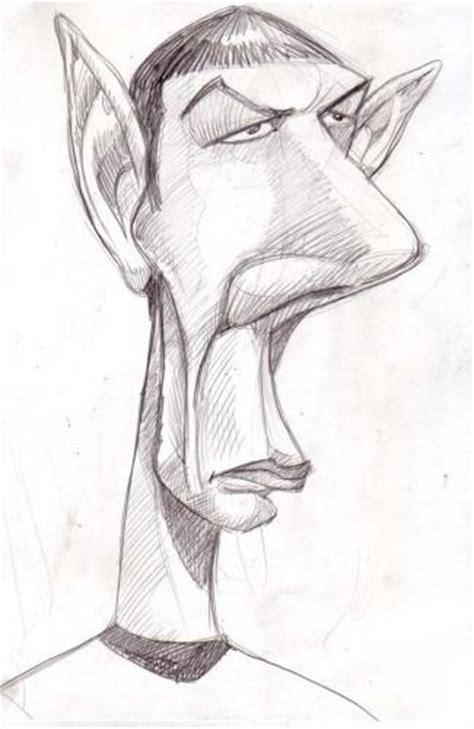 spock star trek caricature  subwaysurfer famous