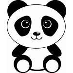 Panda Cartoon Kawaii Pixabay Background Wallpapers Openclipart