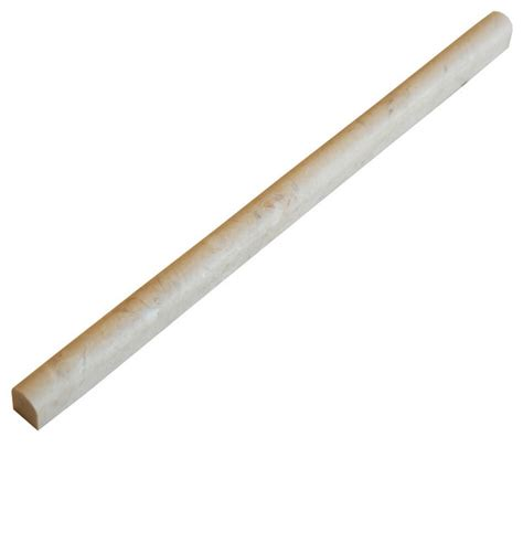 crema beige pencil liner trim tile contemporary accent