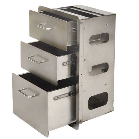 stainless steel kitchen storage cabinet custom yachts gf 4 kitchen stainless steel boat 3 drawer