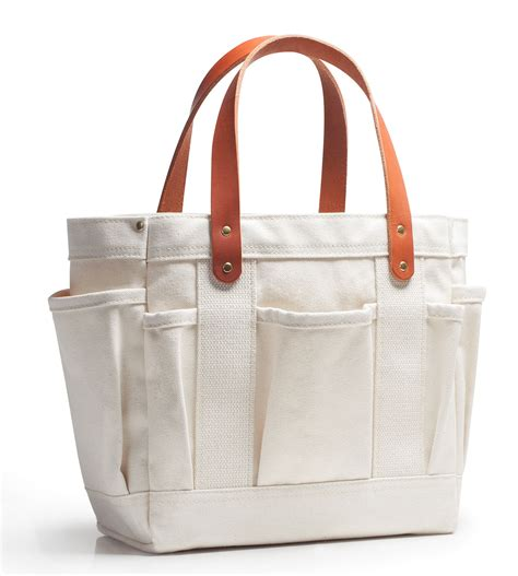 riggers tote natural canvas