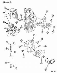 Dodge Neon Support  Engine Mount  Manual