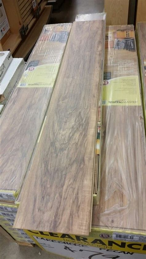 Trafficmaster Glueless Laminate Flooring Lakeshore Pecan by Traffic Master Lakeshore Pecan Laminate Flooring Going